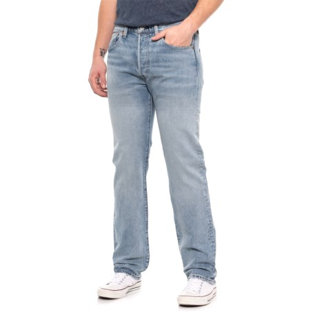 Image of 501(R) Mohawk Warp Original Fit Stretch Jeans (For Men)