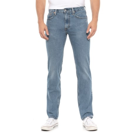 Image of 502 Regular Taper Fit Jeans (For Men)
