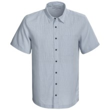 5.11 Tactical Covert Select Shirt - Short Sleeve (For Men) in Atlantic Blue Plaid - Closeouts
