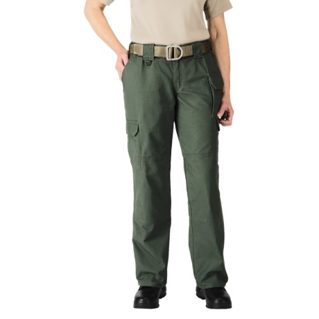5.11 Tactical Pants - Cotton Canvas (For Women) in Od Green
