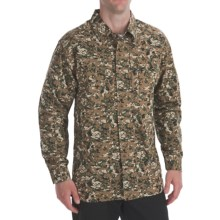 5.11 Tactical Ripstop TDU Shirt - Long Sleeve (For Men) in Woodland Camo - Closeouts