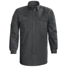 5.11 Tactical TacLite Pro Shirt - Long Sleeve (For Tall Men) in Charcoal - Closeouts