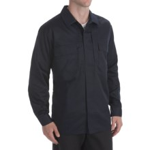 5.11 Tactical Twill TDU Shirt - Long Sleeve (For Men) in Dark Navy - Closeouts