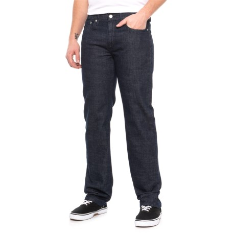 514 Straight Fit Jeans (For Men) - MEDIUM WASH BLUE ( )