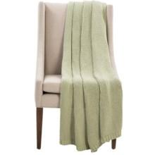 "525 america Homewear Knit Throw Blanket - 50x60"" in Green - Closeouts"