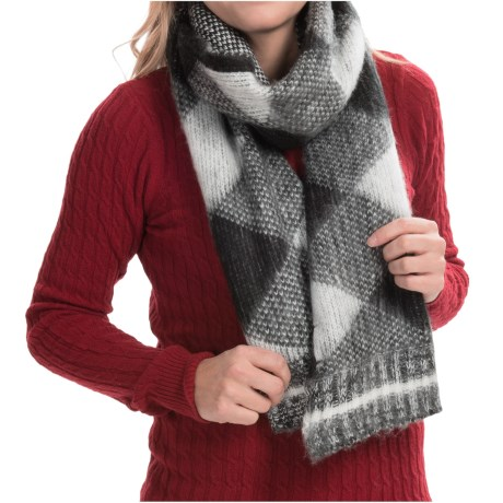 525 america Rectangle Scarf Reversible (For Women)