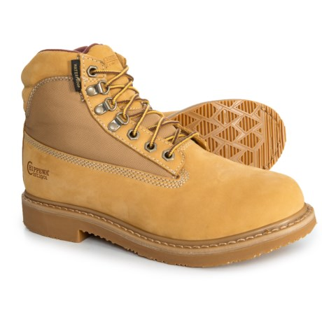Image of 6? Gunnison Work Boots - Waterproof, Insulated, Nubuck (For Men)