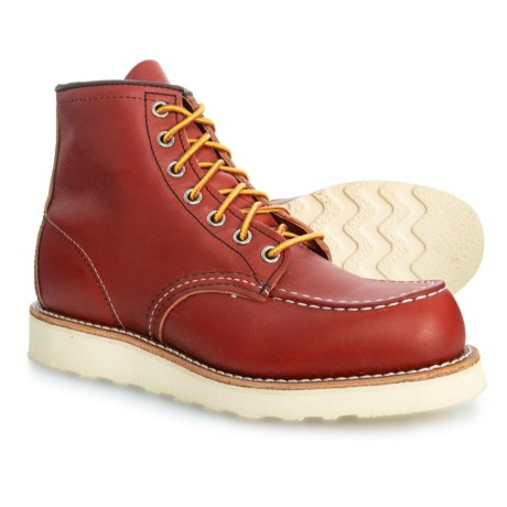 Image of 6? Moc Toe Classic Boots - Leather (For Men)