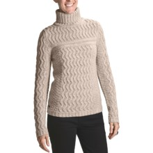66° North Bylur Sweater - Lambswool (For Women) in Nature - Closeouts