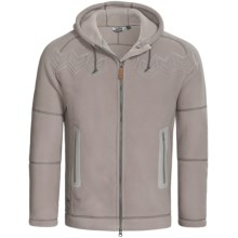 66° North Frost Hooded Jacket - Polartec® (For Men) in Ash Grey - Closeouts