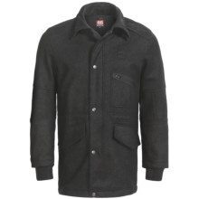 66° North Rok Special Edition Coat - Wool-Blend (For Men) in Black - Closeouts