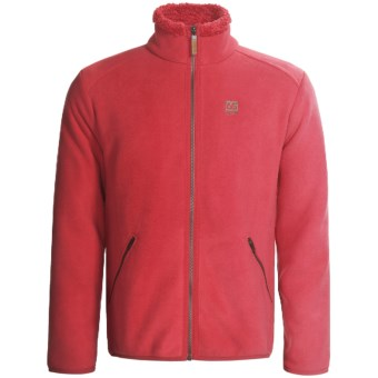 66° North Stormur Jacket - Polartec® Wind Pro® (For Men) in True Red