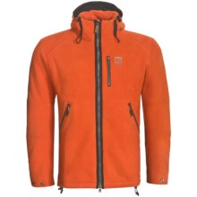 66° North Stormur Polartec® Wind Pro® Jacket (For Men) in Orange - Closeouts