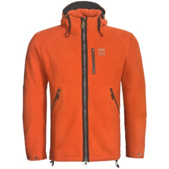 66° North Stormur Polartec® Wind Pro® Jacket (For Men) in Orange