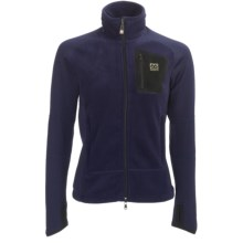 66° North Vatnajokull Jacket - Polartec® Wind Pro® (For Women) in Mystic Blue - Closeouts