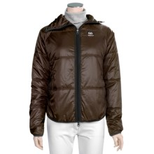 66° North Vatnajokull Jacket - PrimaLoft® (For Women) in Dark Espresso - Closeouts