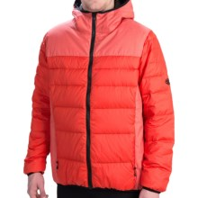 686 Airflight Hooded Down Sweater Jacket - 600 Fill Power (For Men) in Tomato - Closeouts
