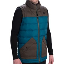 686 Airflight Polyquilt Vest - Insulated (For Men) in Lagoon - Closeouts