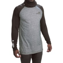 686 Airhole Thermal Airtube Base Layer Top - UPF 30, Long Sleeve (For Men) in Grey Heather Color Block - Closeouts