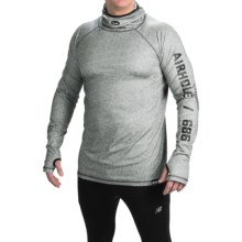 686 Airhole Thermal Bala Base Layer Top - UPF 30, Long Sleeve (For Men) in Grey Heather - Closeouts