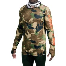 686 Airhole Thermal Bala Base Layer Top - UPF 30, Long Sleeve (For Men) in Hunter Canvas Camo - Closeouts