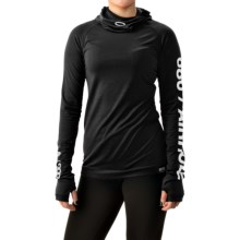 686 Airhole Thermal Bala Base Layer Top - UPF 30, Long Sleeve (For Women) in Black - Closeouts