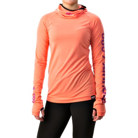 686 Airhole Thermal Bala Base Layer Top UPF 30 Long Sleeve For Women