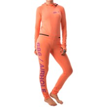 686 Airhole Thermal Base Layer One-Piece - UPF 30+, Long Sleeve (For Women) in Coral - Closeouts