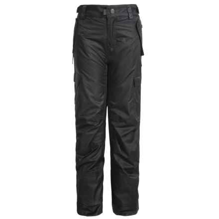 686 All Terrain Ski Pants - Waterproof, Insulated (For Boys) in Black - Closeouts