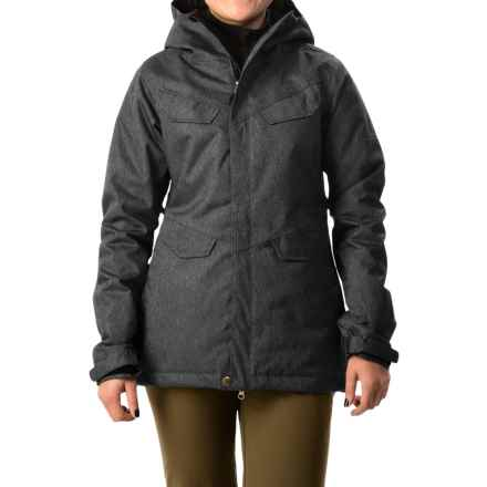 686 Annex Snowboard Jacket - Waterproof, Insulated (For Women) in Black - Closeouts