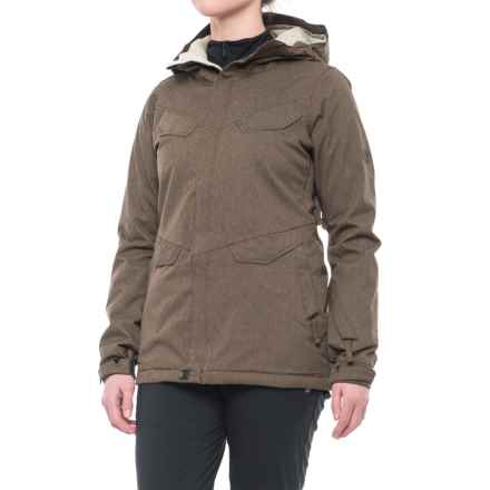 686 Annex Snowboard Jacket - Waterproof, Insulated (For Women) in Chocolate - Closeouts
