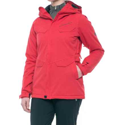686 Annex Snowboard Jacket - Waterproof, Insulated (For Women) in Dark Red - Closeouts