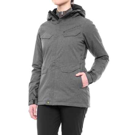 686 Annex Snowboard Jacket - Waterproof, Insulated (For Women) in Gunmetal - Closeouts