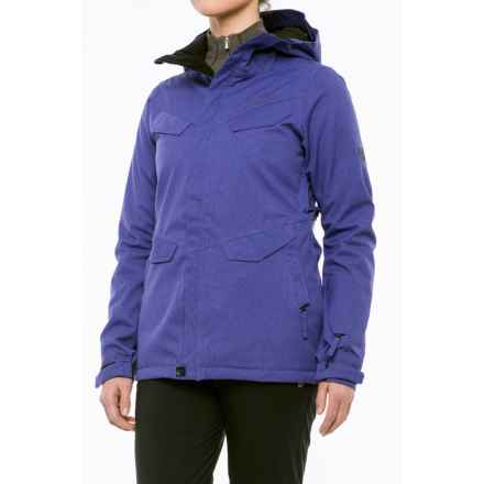 686 Annex Snowboard Jacket - Waterproof, Insulated (For Women) in Iris - Closeouts