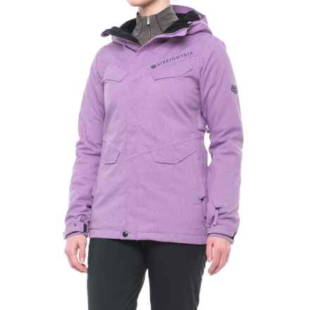 686 Annex Snowboard Jacket - Waterproof, Insulated (For Women) in Thistle - Closeouts
