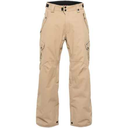 686 Defender Cargo Snowboard Pants - Insulated, Waterproof (For Men) in Khaki - Closeouts