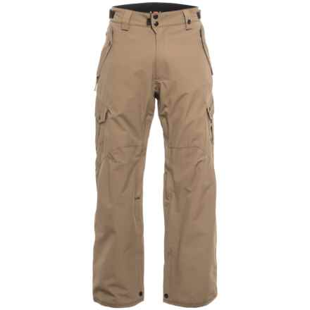686 Defender Cargo Snowboard Pants - Insulated, Waterproof (For Men) in Tobacco - Closeouts