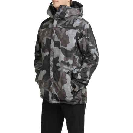686 Defender Snowboard Jacket - Waterproof, Insulated (For Men) in Gunmetal Camo - Closeouts