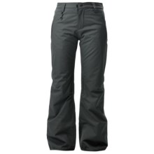 686 Dulca Snowboard Pants - Waterproof, Insulated (For Women) in Gunmetal - Closeouts