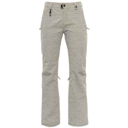 686 Dulca Snowboard Pants - Waterproof, Insulated (For Women) in Ivory - Closeouts