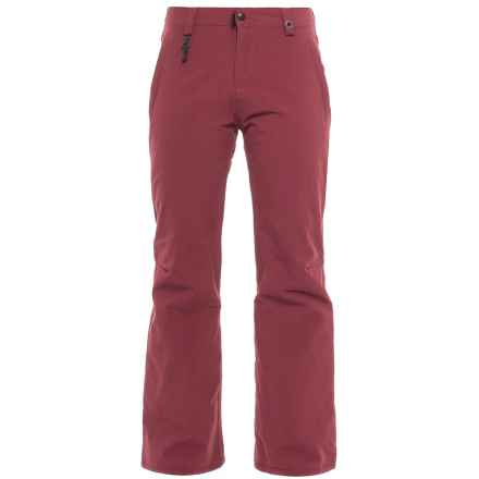 686 Dulca Snowboard Pants - Waterproof, Insulated (For Women) in Wine - Closeouts