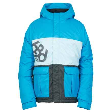 686 Elevate Ski Jacket - Waterproof, Insulated (For Boys) in Blue Colorblock - Closeouts