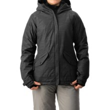 686 Faithful Snowboard Jacket - Waterproof, Insulated (For Women) in Black - Closeouts