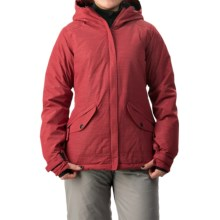 686 Faithful Snowboard Jacket - Waterproof, Insulated (For Women) in Blood - Closeouts