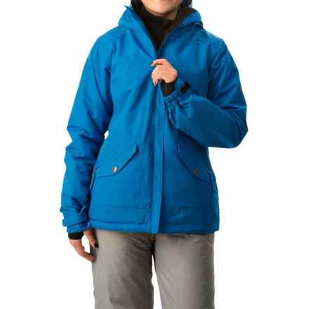 686 Faithful Snowboard Jacket - Waterproof, Insulated (For Women) in Blue - Closeouts