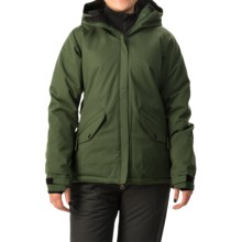 686 Faithful Snowboard Jacket - Waterproof, Insulated (For Women) in Forrest Green - Closeouts