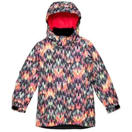 686 Flora Ski Jacket - Waterproof, Insulated (For Girls) in Kaleidoscope - Closeouts
