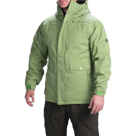 686 Gambit Snowboard Jacket - Waterproof, Insulated (For Men) in Grass Texture - Closeouts