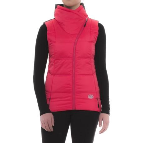 686 Glacier Serenade InfiLOFT Vest (For Women) in Fuschia Cire