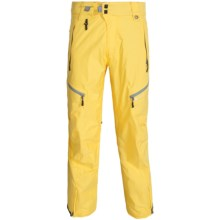 686 Glacier Synth Thermagraph Snowboard Pants - Waterproof, Insulated (For Men) in Lava Heather Twill - Closeouts